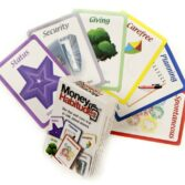 Award-winning Money Habitudes cards make it fun and easy to talk about the difficult topic of money. The hands-on cards are more engaging than a worksheet or just Q&A. The adult version, shown here, is designed for ages 25 and older -- although it is written at an easy-to-understand 5th grade level.